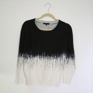Love Fate Destiny Two-Tone Sweater